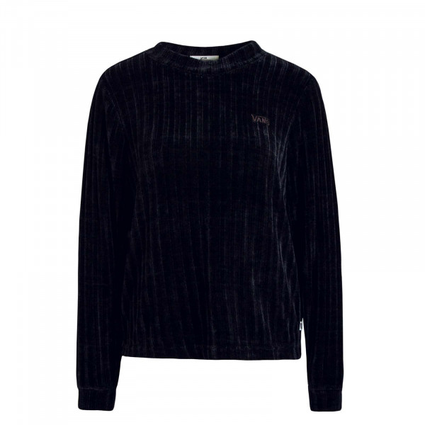 Damen Sweat Cordcon Black
