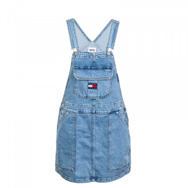 Damen Kleid - Cargo Dungaree Leon Lb Com - Blue