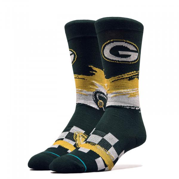Unisex Socken NFL Packers Racer Green Yellow
