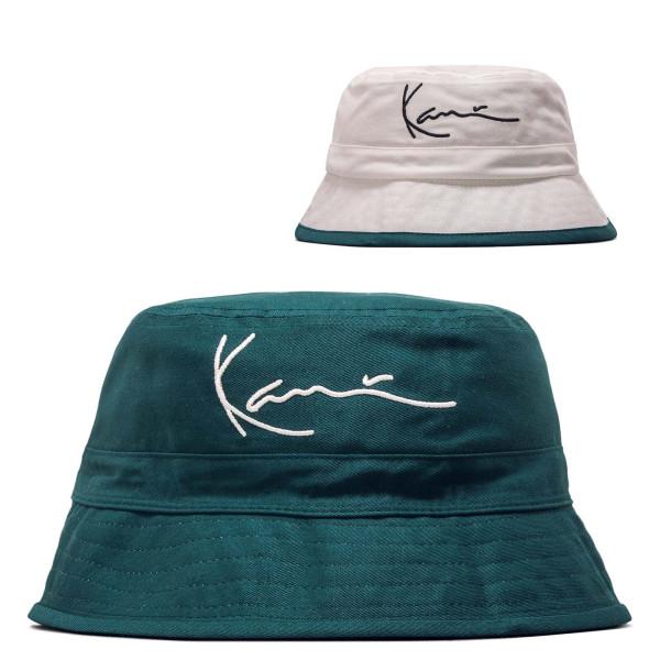 Unisex Hut - Signature Reversible Bucket - Green / White