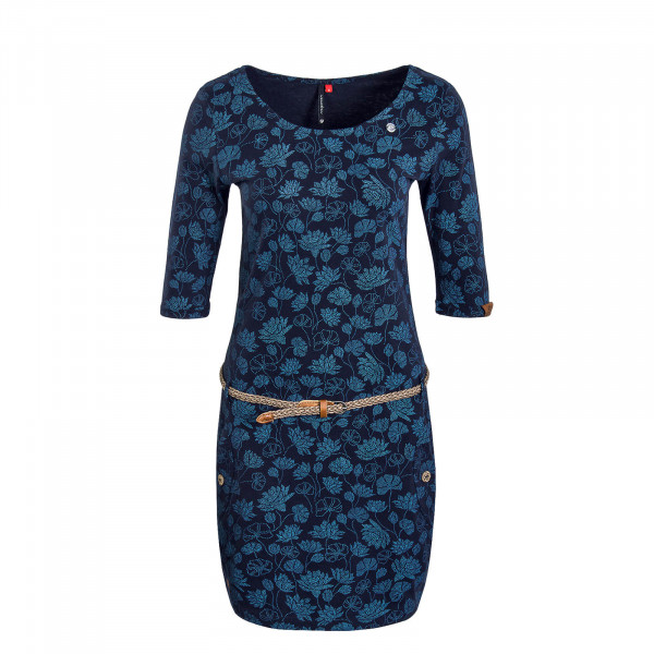 Dress Tanya Flowers Navy