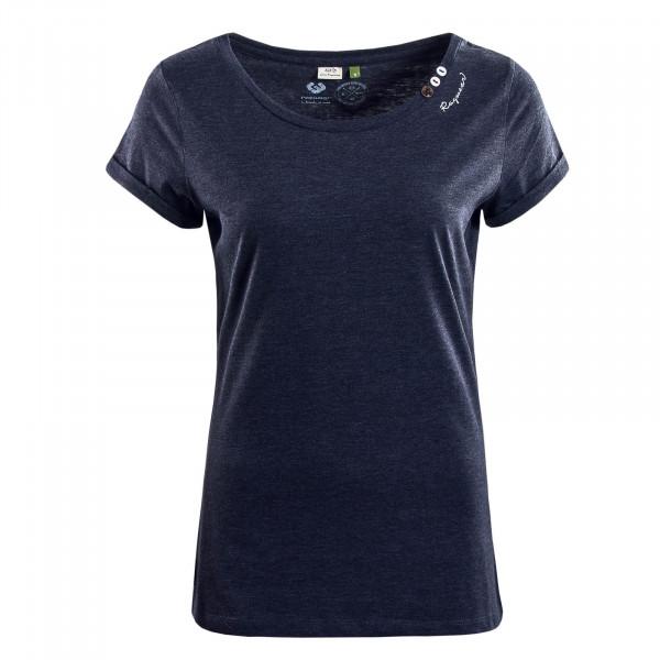 Damen T-Shirt  Florah A Organic Navy