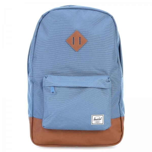 Herschel Heritage Mid Blue Brown Backpack