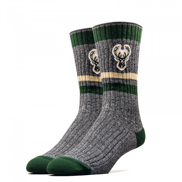 Socken NBA Bucks Boot Grey Green