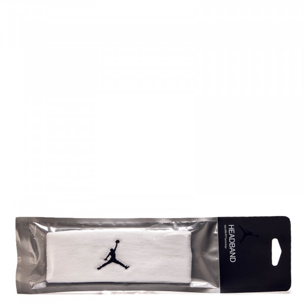 Jumpman Headband White Black