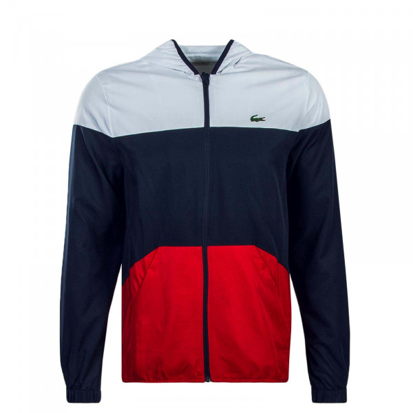 Lacoste Jkt BH 3588 White Navy Red