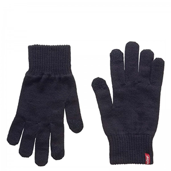Levis Gloves Ben Touch Screen Dk Grey