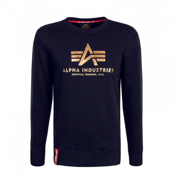 Alpha Sweat Basic Black Gold