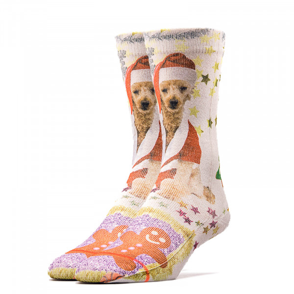 Stance Wmn Socks Foundation MRS Paws Wht