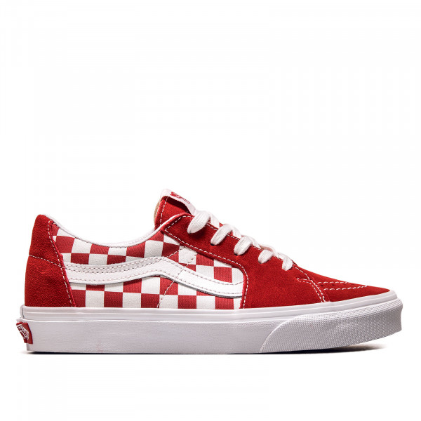 Unisex Sneaker SK8-Low Canvas Suede Red Checkerboard