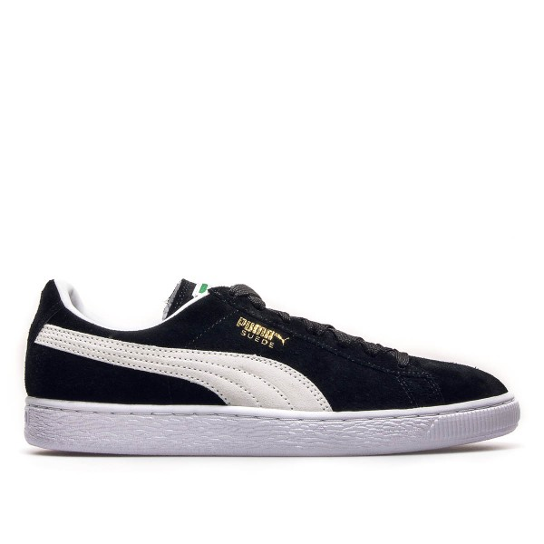 Puma Suede Classic+ Black White