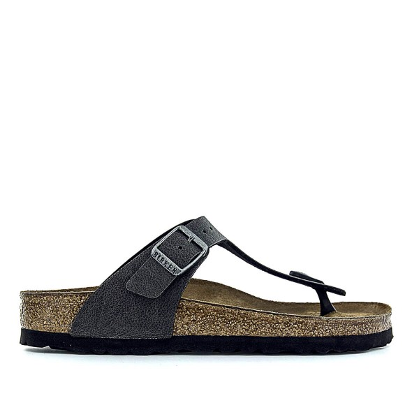 Birkenstock Wmn Gizeh BS Pull Up Anthrac