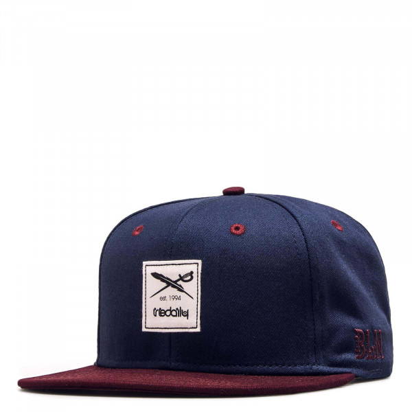 Cap Daily Contra Navy Bordeaux