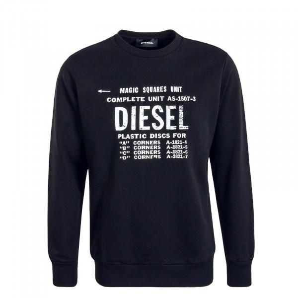 Herren Sweatshirt S57 Black