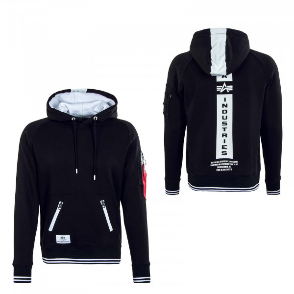 Herren Hoody Defense Black