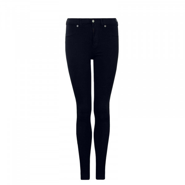 Dr Denim Wmn Plenty Black