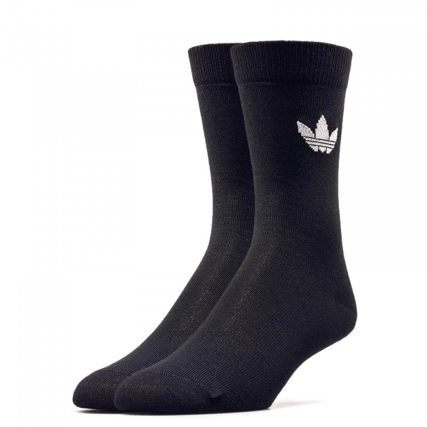 Adidas Socks 2Pk Thin Tref Black White