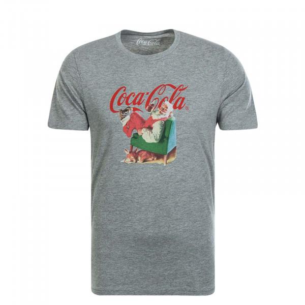 Herren T-Shirt JORXMASCOLA Grey