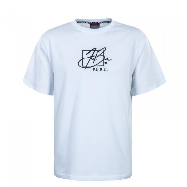 Herren T-Shirt - Script - White