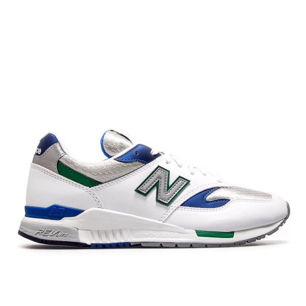 New Balance ML 840 AB White Blue Green