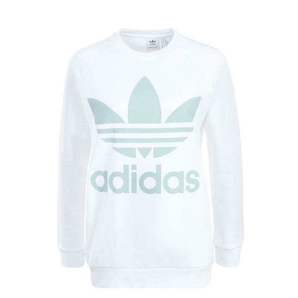 Adidas Wmn Sweat Oversized White Mint