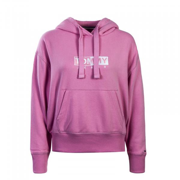 Damen Hoody TJW Clean Logo Pink