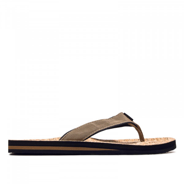 Herren Slide Chad Structure Brown Beige