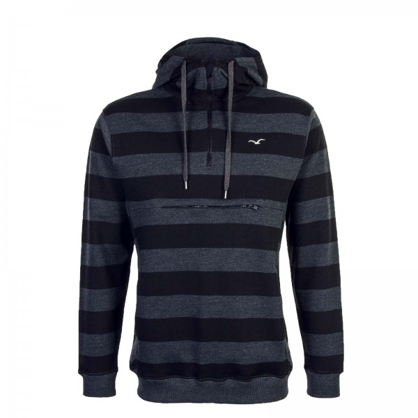 Clepto Hoody Stripe 3 Black Antra