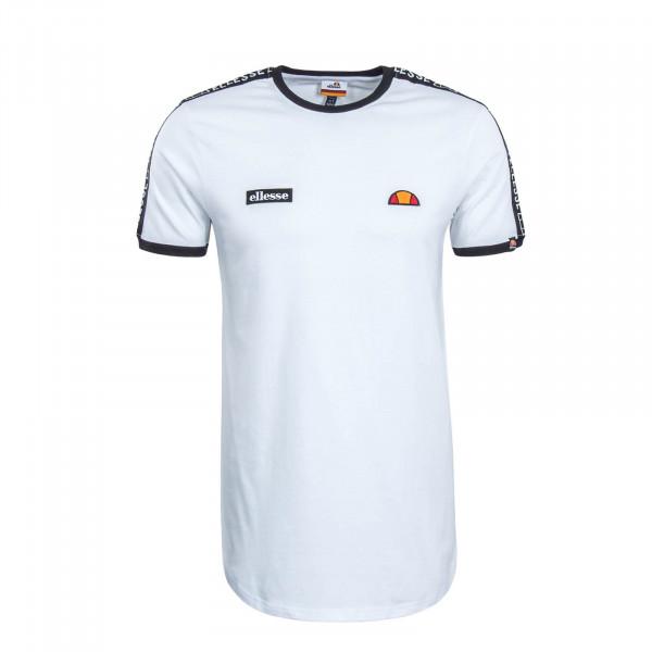 Herren T-Shirt Fede White Black