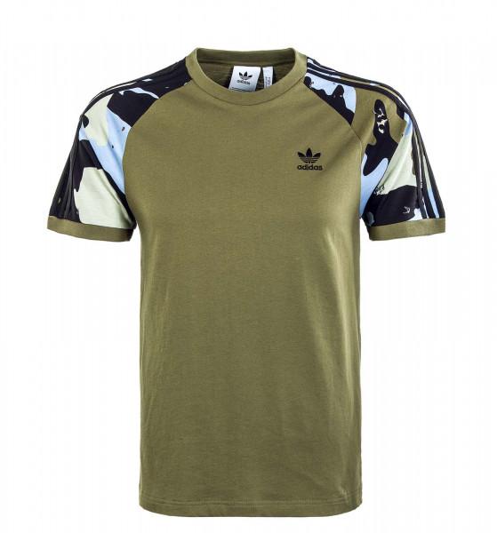 Herren T-Shirt - Camouflage Cali H16348 - Focoli