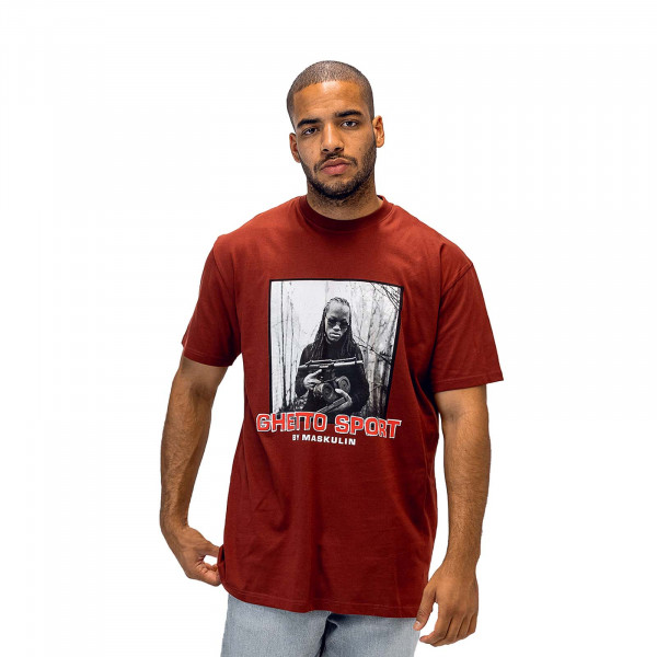 Herren T-Shirt Young Ghetto Legends