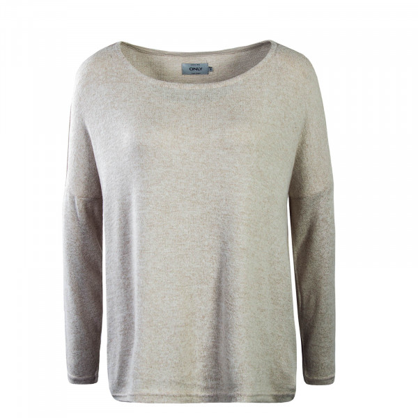 Damen Longsleeve Knit Maye Light Beige