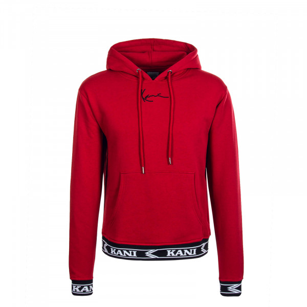 Herren Hoody Signature Red Black