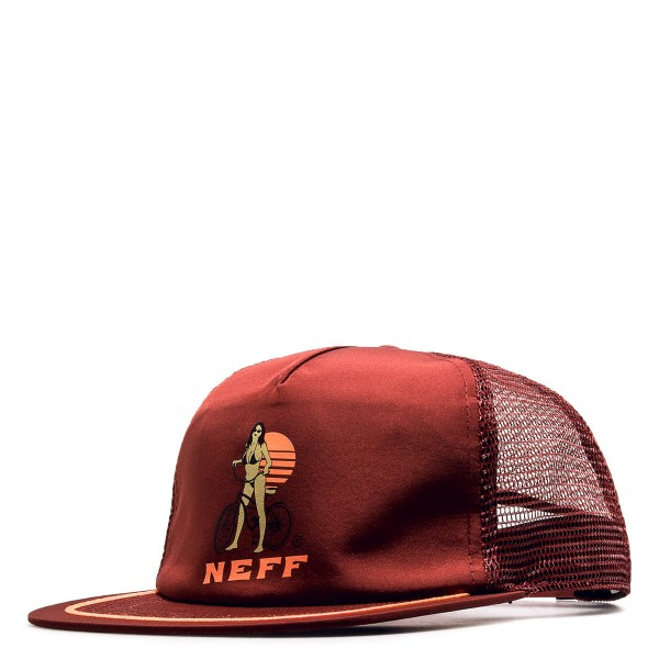 Neff Cap Trucker Destination Marron