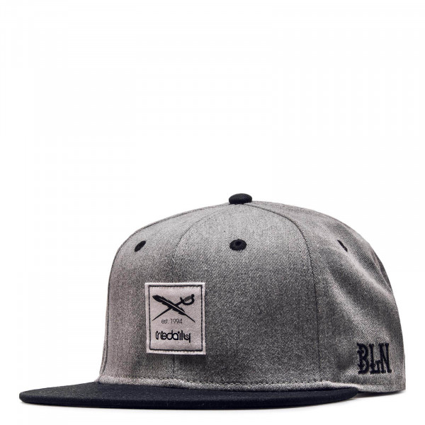 Iriedailly Cap Daily Contra Grey Black