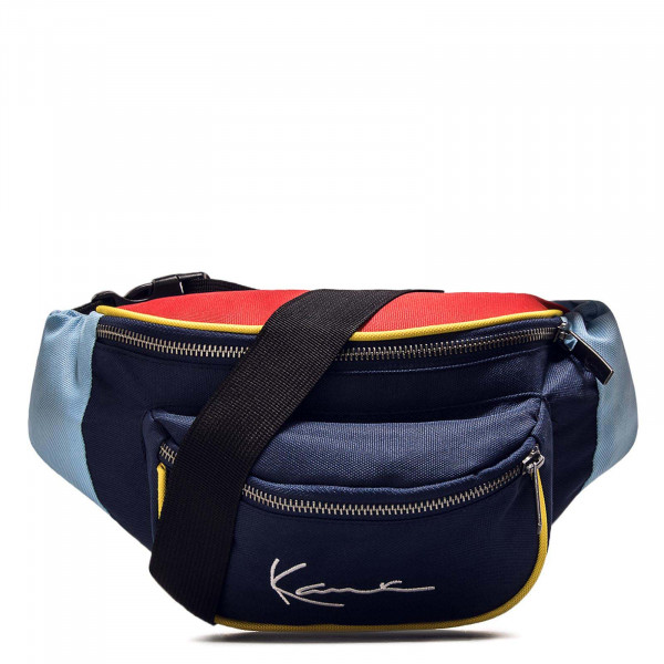 Hip Bag 4511 Navy Red Sky