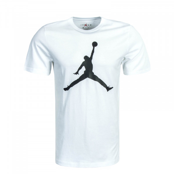 Herren T-Shirt Jumpman White Black
