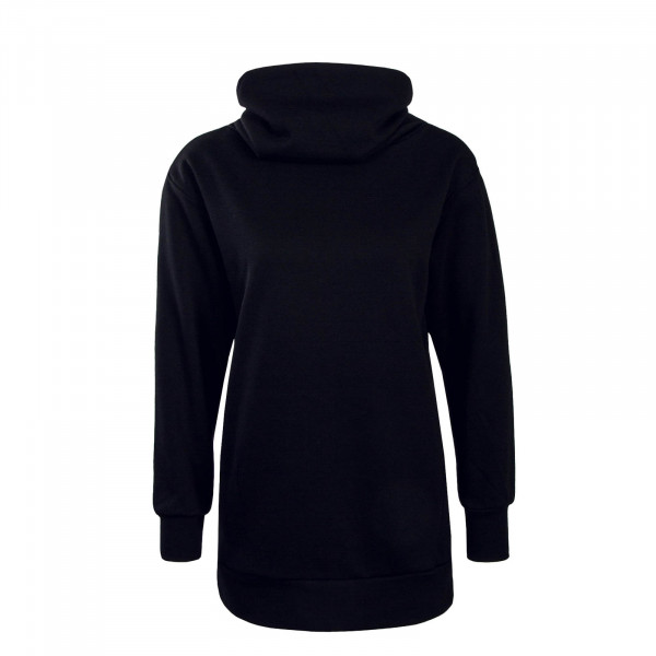 Damen Sweatshirt Long Jenny Black