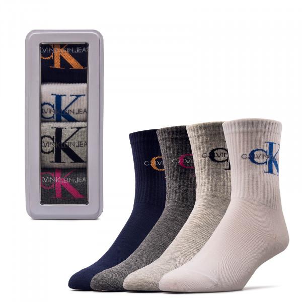 Socken 4er Pack Giftbox Jean Blue Combo