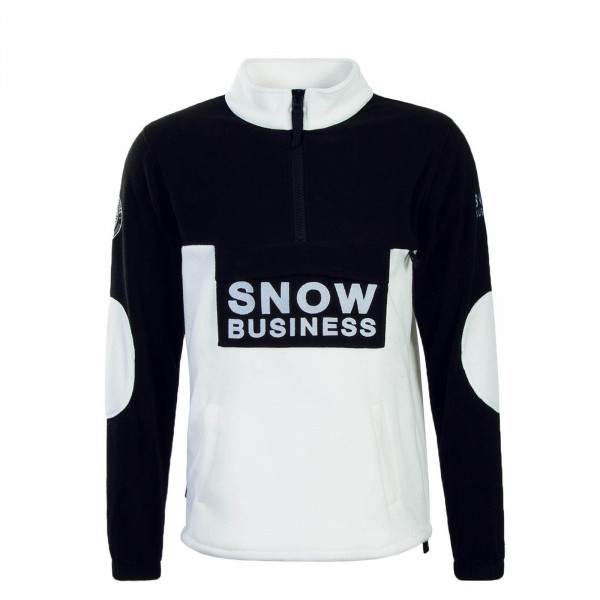 Unfair Sweat Fleece Snow Business Black