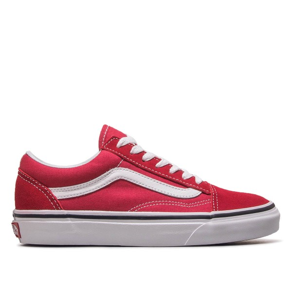 Vans Old Skool Crimson White