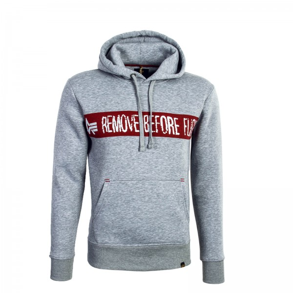 Alpha Hoody RBF Grey
