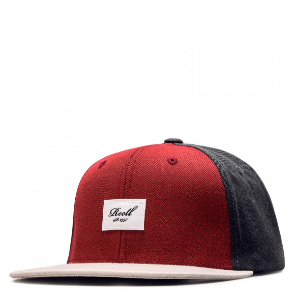 Cap - Pitchout - Anthrazit Red Grey