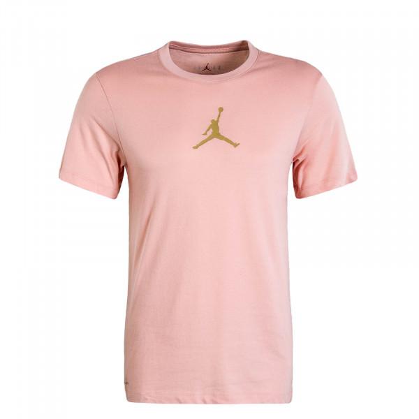 Herren T-Shirt Jumpman DFCT Rosa Gold
