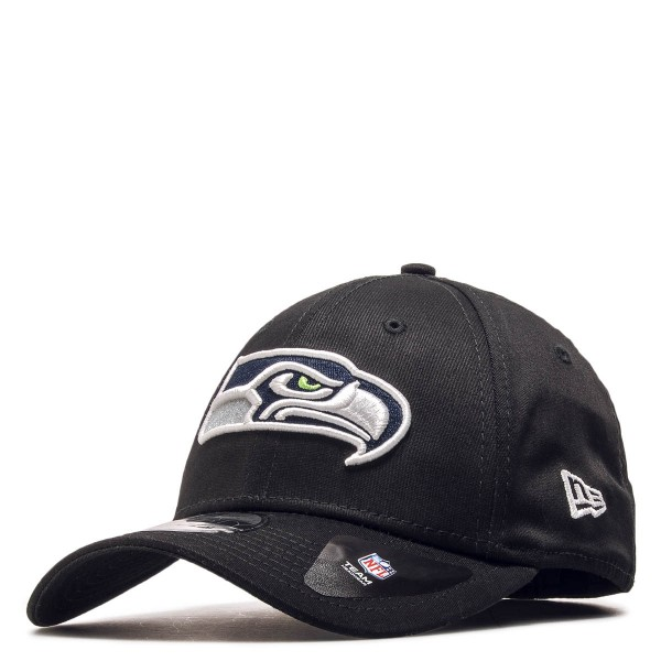 New Era 39Thirty Seahawks Black White
