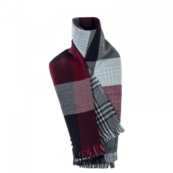 Only Scarf Faith Double. Check Blk Red
