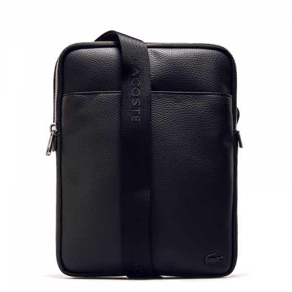 Lacoste Bag M Flat Crossover Black