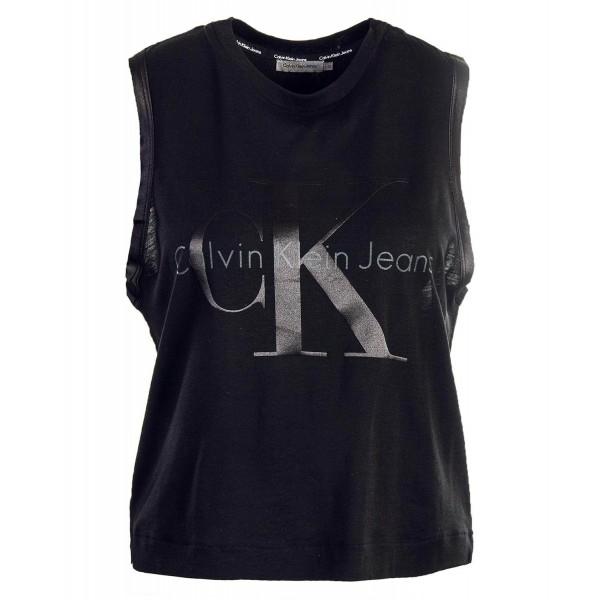 CK Wmn Top Trew True J20J205317 Black