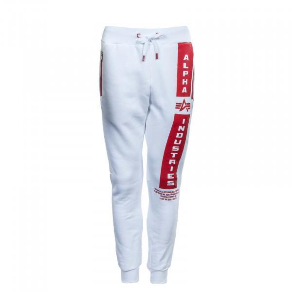 Herren Jogginghose - Defense Jogger - White / Red