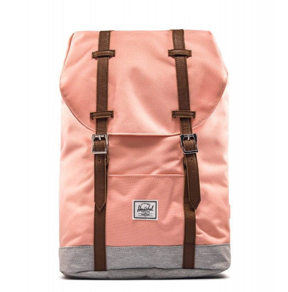 Herschel Backpack Retreat Peach Lt Grey